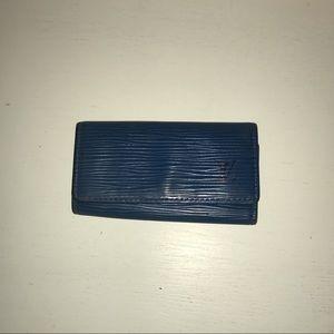 Will you Vuitton Epi key holder keychain